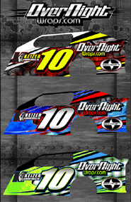 Overnight Wraps Motorsports Industry Home Racecar Wraps